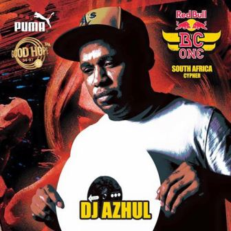 DJ Azuhl will once again be Spinning the Records at Red Bull BC One SA