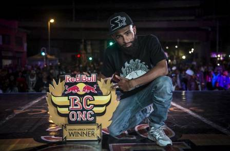 Red Bull BC One 2015 SA Champion Brandon Petersen aka B-Boy The Curse