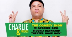 Comedian Charlie Bruinou is Back With a New Show