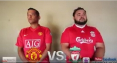 Manchester United vs Liverpool - A Comedic Look at The Rivalry on The Streets of Cape Town