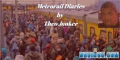 Metrorail Diaries - Cheese It and Enjoy It