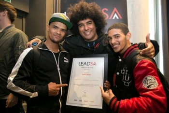 Emile Jansen of Heal The Hood named Lead SA Hero of The Year for 2016
